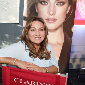 Norah Casey at the preview of The Clarins Autumn Make-up Collection at Dean Hotel ,Dublin.